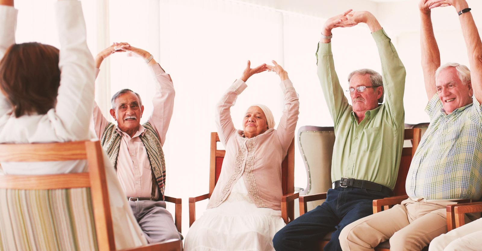 Senior Flexibility. Staying Fit and Healthy