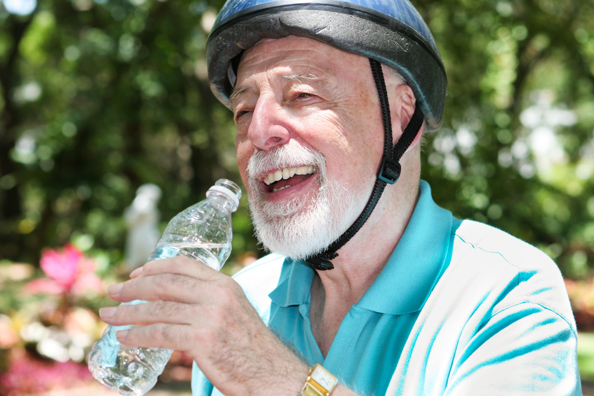 Preventing Dehydration with Elderly Care